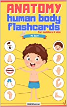 Anatomy Human Body Flashcards for Toddlers & Kids: Body Pictures for 0-5 Years, Preschools and Kindergartens