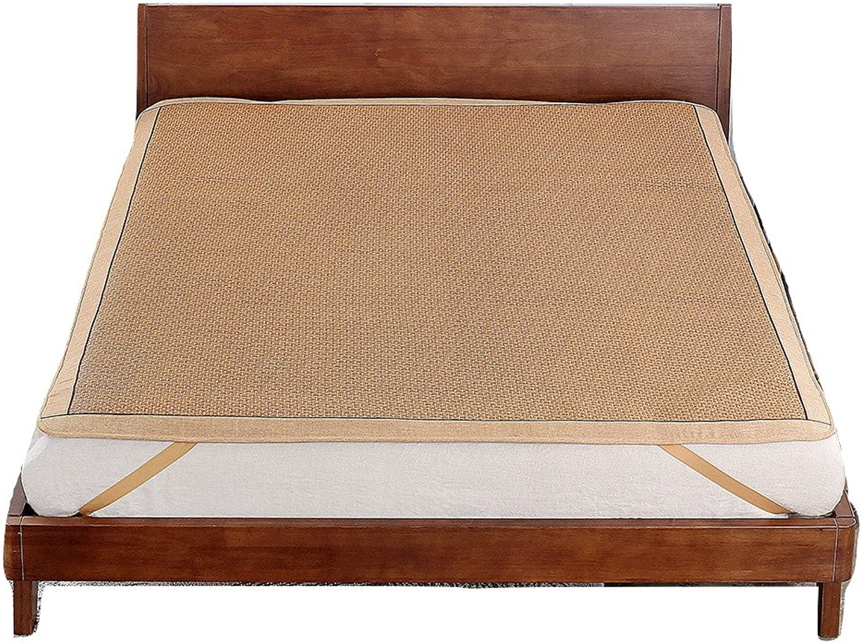 Qbedding Rattan Cooling Queen Size Ancient Summer Sleeping Pad Mattress Topper