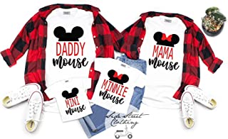 Family Mouse Coordinating T shirt - ONE SHIRT ONLY - mommy and me family matching