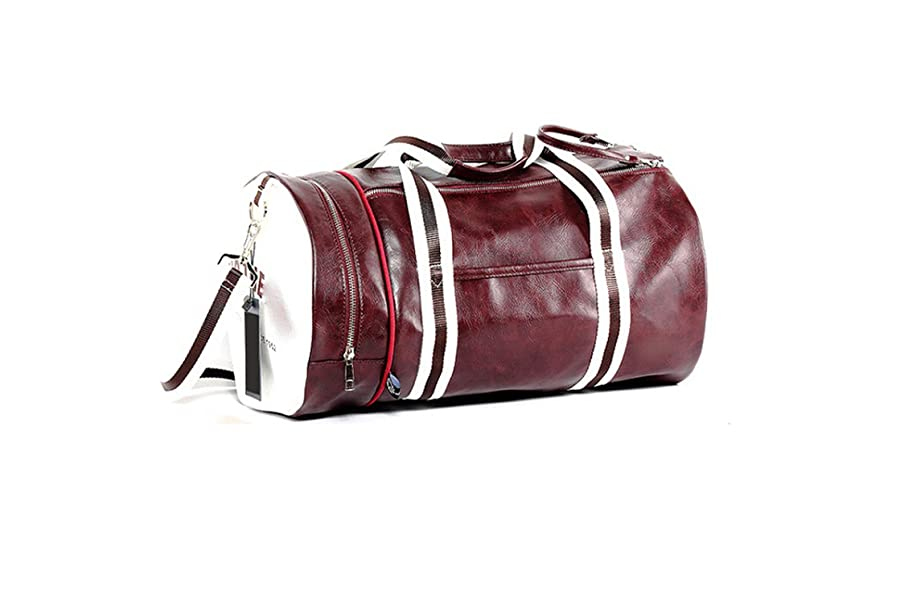 Outdoor Men's Sports Gym Bag With Independent Shoes Pocket Mixed Color Sport Fitness Travel Bag,Type C v8725044048