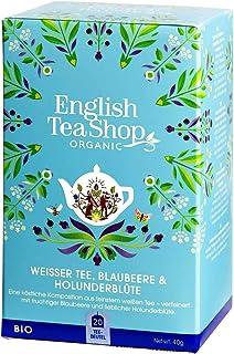 English Tea Shop English Tea Shop Organic White Tea Blueberry & Elderflower 20pc, 40 g