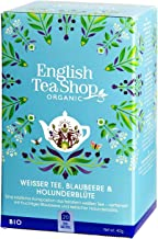 English Tea Shop English Tea Shop Organic White Tea Blueberry & Elderflower 20pc,  40 g