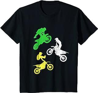 Kids Dirt Bike Shirt for Boys & Toddler Gift Motocross Tshirt