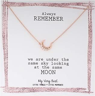 Delicate Feminine Crescent Moon Necklace