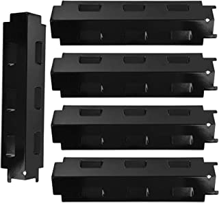 BBQration 5-pack Porcelain Heat Plate Replacement for Select Gas Grill Models By Charbroil, Kenmore and Others
