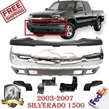 Partslink Number GM1051110 OE Replacement Chevrolet Silverado Front Bumper Cushion
