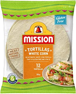 Mission White Corn Tortillas, 12 Tortillas, 312g