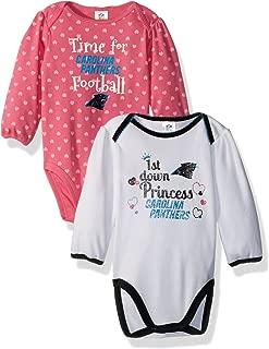 NFL 2 Pack Long Sleeve Bodysuit