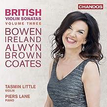 British Violin Sonatas 3