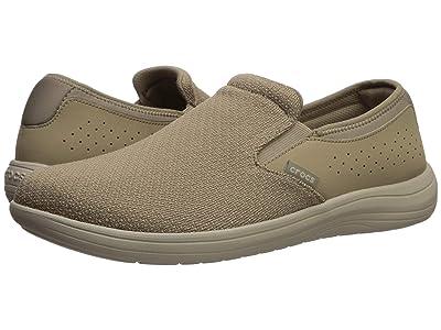 Crocs Reviva Slip-On (Khaki/Cobblestone) Men