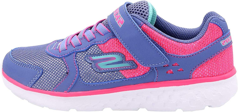 Skechers Unisex-Child Go Run 400-Sparkle Sneaker