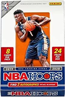 2019/20 Panini Hoops NBA Basketball HOBBY box (24 pks/bx)