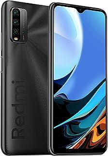 【日本正規代理店品】Xiaomi Miスマホ Redmi9T 4GB+64GB スマートフォン本体 SIMフリー 4800万画素 携帯電話 4眼カメラ大容量6000mAh 3.5mmスマートフォンイヤフォンジャック AI顔認証 (グレー)