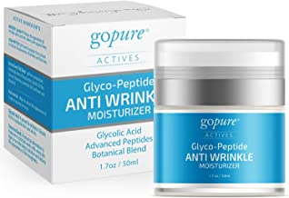 Sponsored Ad - GoPure Anti Wrinkle Cream for Face and Eye Cream with Proven Ingredients - Glycolic Acid, Hyaluronic Acid, ...