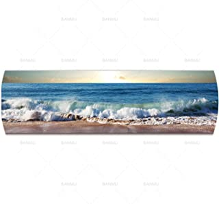 lovehouse21 Landscape Canvas Painting Photo Sea Wave Wall Picture Art Print Canvas and Posters Picture Wall Art Painting Art Home Decor,30Cmx105Cm,Gh5533