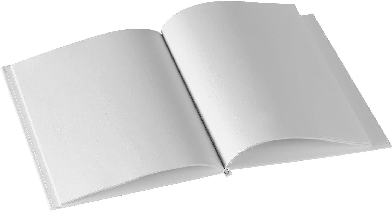 Ashley 10700 Hardcover blanko Buch 15,2 15,2 15,2 x 20,3 cm 28 PGS weiß B0163I89IC   Exquisite (in) Verarbeitung  1c004e