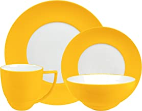 Waechtersbach Uno 4-Piece Place Setting Dinnerware Set, Curry