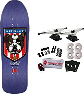 Powell-Peralta Skateboard Complete Frankie Hill Bulldog Purp Re-Issue Old School