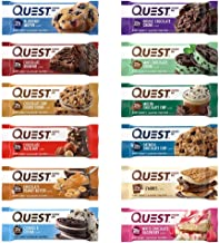Quest Nutrition- High Protein, Low Carb, Gluten Free, Keto Friendly, 12-2.2 ounce assorted flavors variety Pack