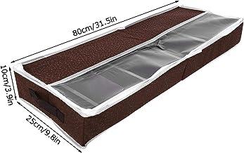 Fdit Domowe wodoodporne pudełko do przechowywania butów z zamkiem błyskawicznym PCW osłona regulowane przegrody organizer ...