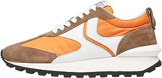 VOILE BLANCHE QWARK Man-Sneaker in Tessuto Tecnico, Suede e Pelle