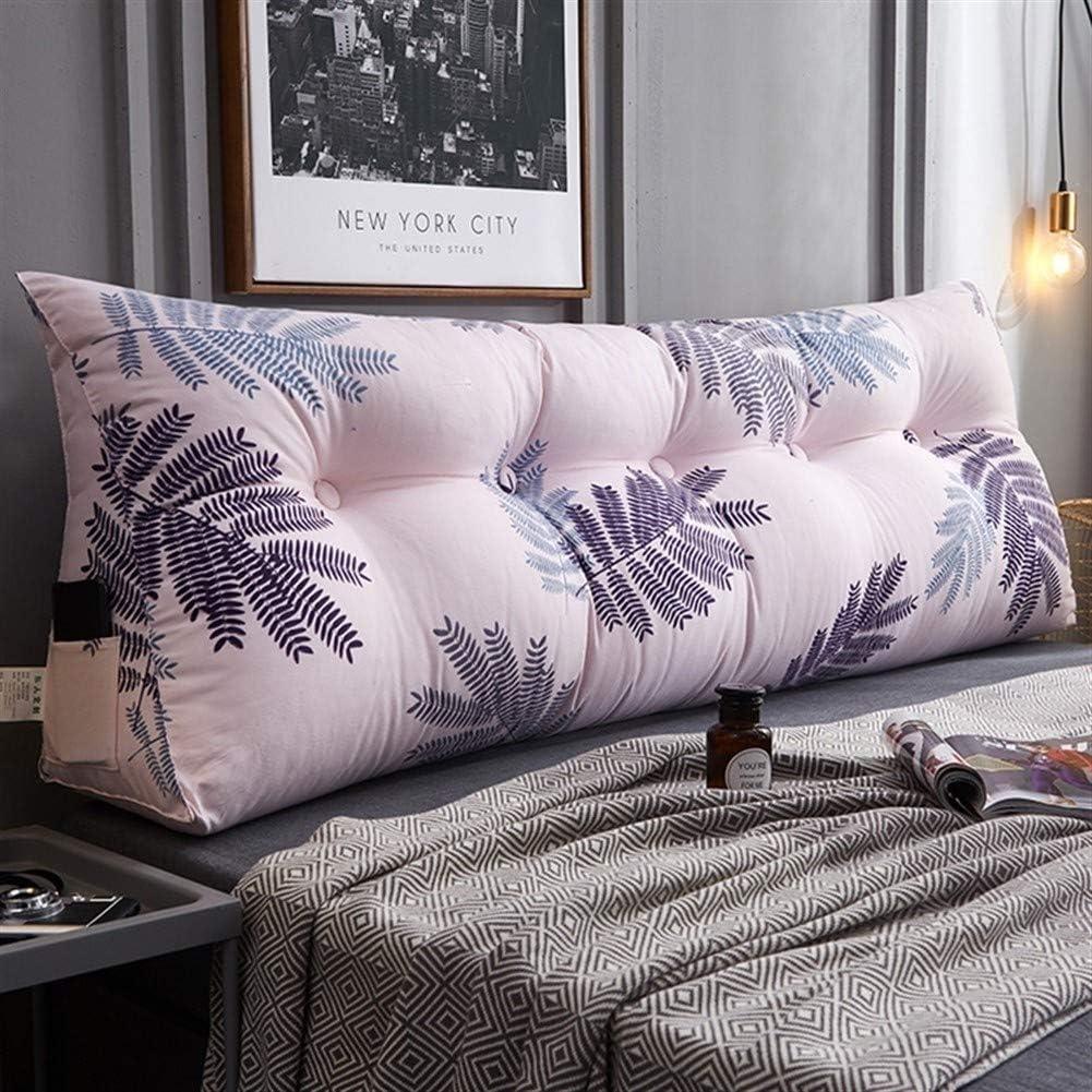 Bedside 2021 Cushion Triangle Double Sofa Large Backrest Nordic Regular store Sty