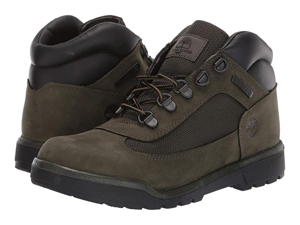 Timberland Kids Field Boot Chukka (Big Kid) (Dark Green Nubuck) Kids Shoes