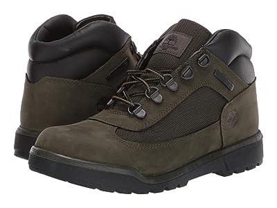 Timberland Kids Field Boot Chukka (Big Kid) (Dark Green Nubuck) Kids Shoes