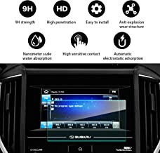 YEE PIN Control Touch Screen Car Navigation Tempered Glass Screen Protector for 2017 2018 Subaru Impreza Starlink 6.5Inch Navigation Protector, Anti-Explosion |Scratch Resistant |Reduce Fingerprint