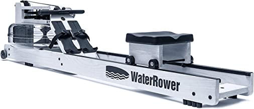 WaterRower Blanc Rowing Machine with S4 Monitor