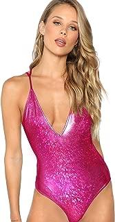 Best purple holographic bodysuit Reviews