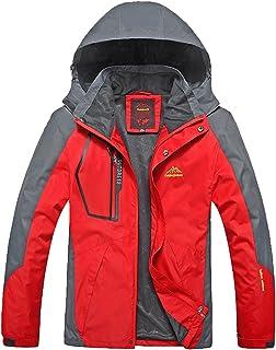 Lottaway Spring Fall Hooded Outdoor Hiking Climbing Rush Guard Pioneer Jacket