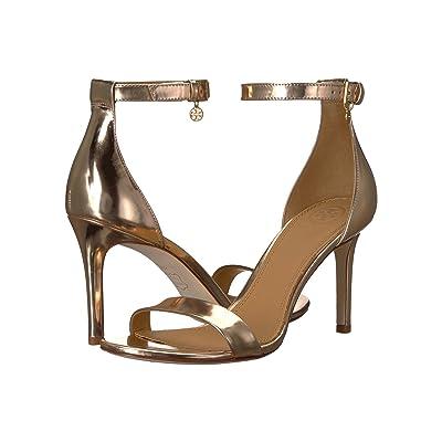 Tory Burch Ellie 85mm Ankle-Strap Sandal (Rose Gold) Women