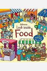 Look Inside Food Board book