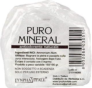 Desodorante de Alumbre de Amonio Natural en Piedra en Bruto