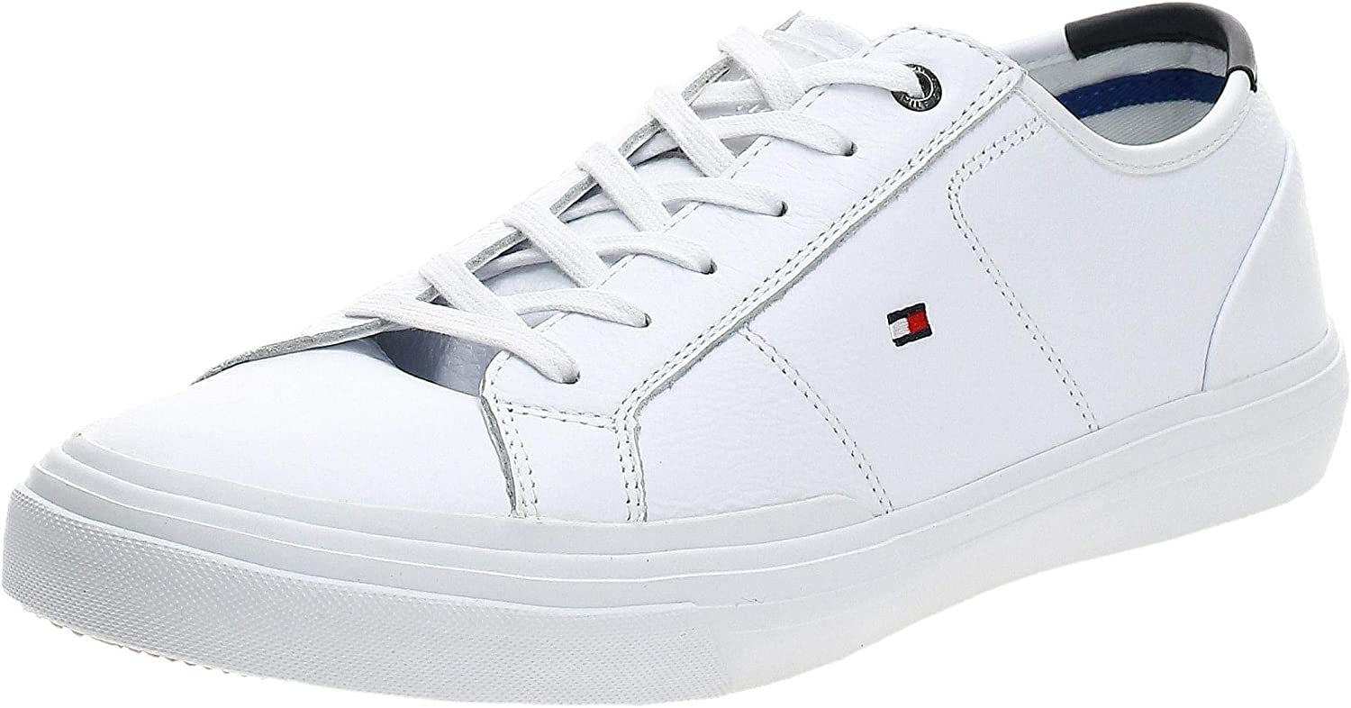 Tommy Hilfiger Core Corporate 半額 定番スタイル Flag Trainers Mens Sneaker Casual
