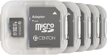 Centon Electronics Class 4, 8GB Micro SDHC Card (S1-MSDHC4-8G5PK)
