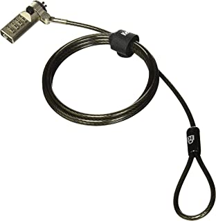 Kensington N17 Dell Cable Lock for Laptops with Wedge Lock Slot (K64442WW)