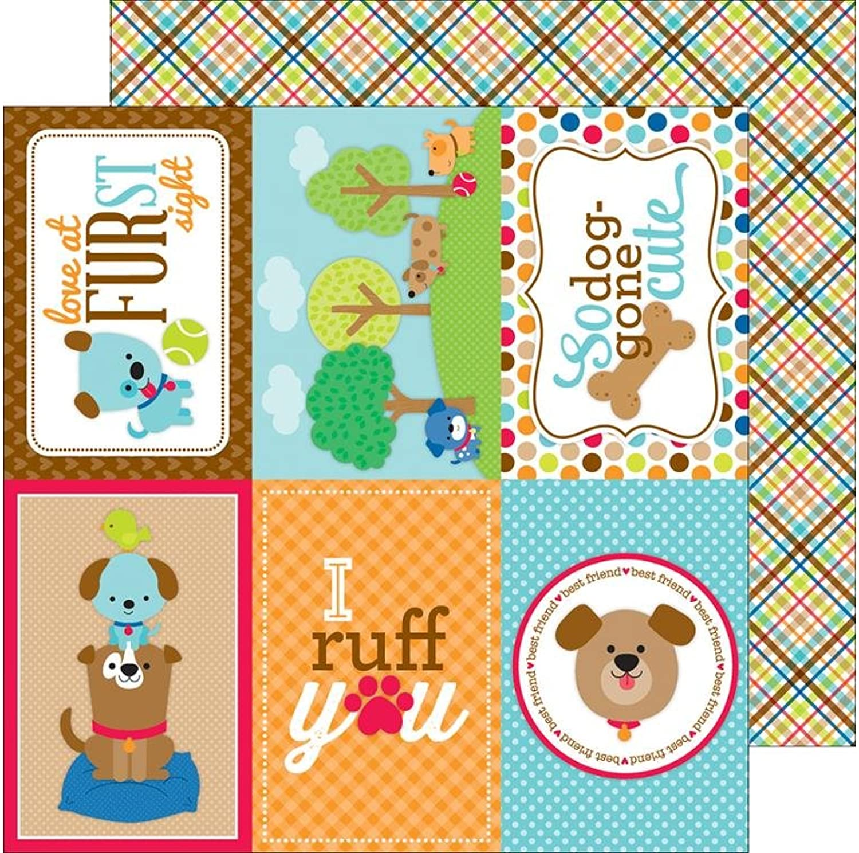 Doodlebug Doodlebug Doodlebug Puppy Love doppelseitig Karton 12 Zoll x 12 Zoll, Mehrfarbig B01JDJSN5M | Ausgezeichnete Leistung  8f5d61