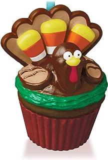 Hallmark Keepsake Ornament Grateful Gobbler Turkey Keepsake Cupcake Series 2015