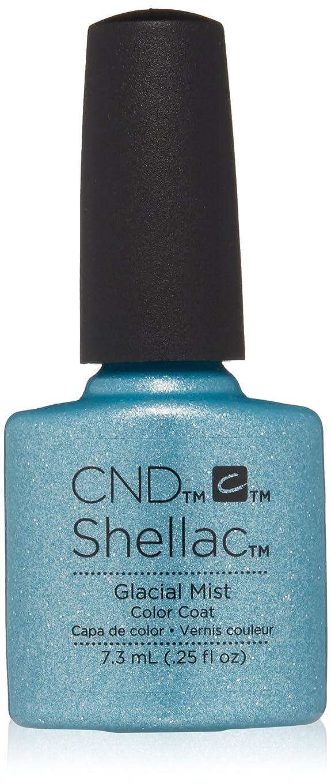 チェス接続詞買い手CND シェラック UV カラーコート 210 グラシアルミスト Glacial Mist 7.3ml