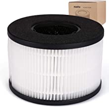 PARTU BS-03 HEPA Air Filter Filter, 3-in-1 Filtration System Include Pre-Filter, True HEPA Filter, Activated Carbon Filter.