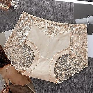 سراويل داخلية نسائية دانتيل وسط الخصر ملابس داخلية مثيرة للنساء سراويل داخلية شبكية زهرية ملابس داخلية داخلية داخلية ملابس...