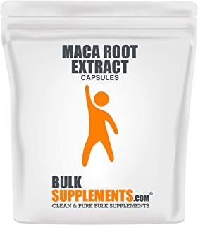 BulkSupplements Maca Root Extract (100 Vegetarian Capsules)