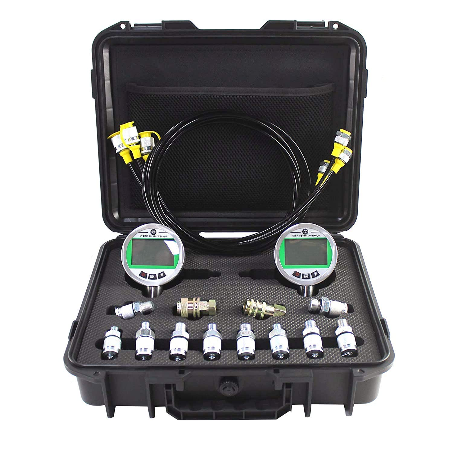 SINOCMP Special price for a limited time Digital Pressure gift Gauge Kit Pressur 70MPA 10000PSI 2 with