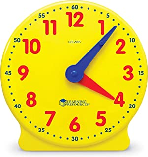 Learning Resources LER2095 Big Time Student Clock (12 HR) 5 W in