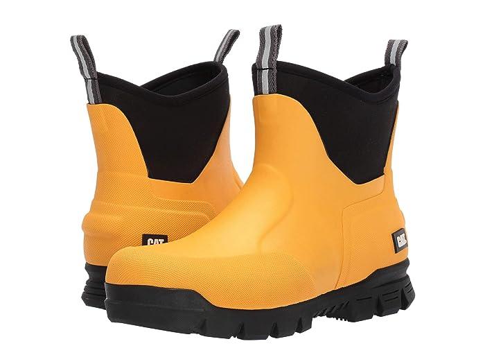 Caterpillar Casual  6 Stormers (Cat YellowithBlack) Mens Rain Boots
