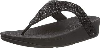 Fitflop Lottie Shimmercrystal, Sandale plate Femme