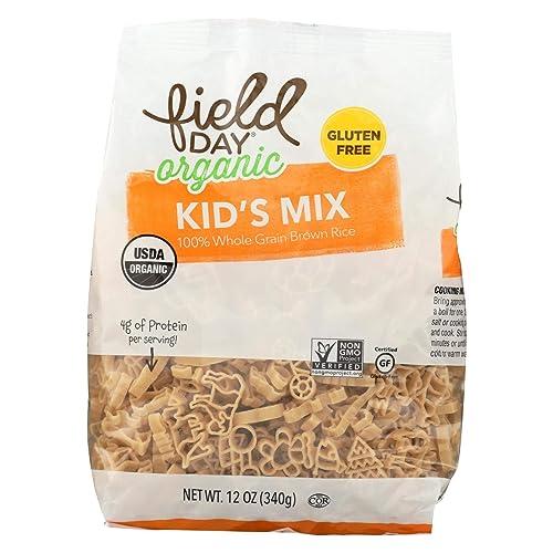 Organic Gluten Free Brown Rice Kids Mix Pasta 12 Ounces (Case of 12)