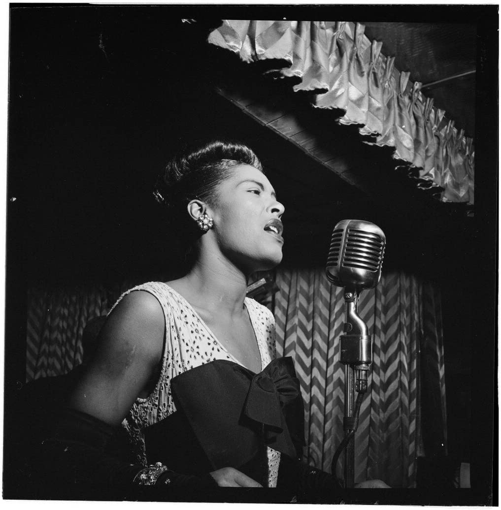 Billie Holiday Some reservation Downbeat Club Max 80% OFF New York Jazz Photo 1947 S American